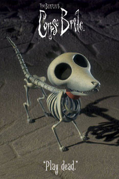 Corpse bride - dog Poster