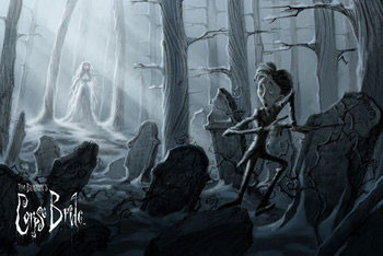 Corpse bride - painting Poster
