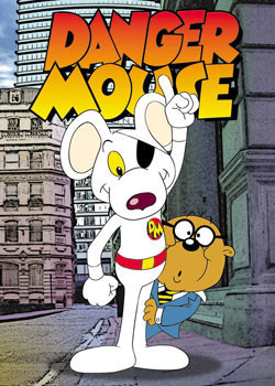 DANGER MOUSE - Pointing Poster