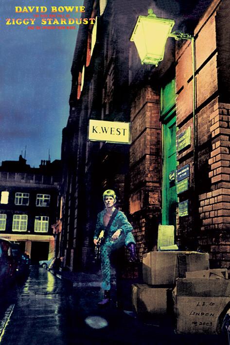 Poster David Bowie - ziggy stardust