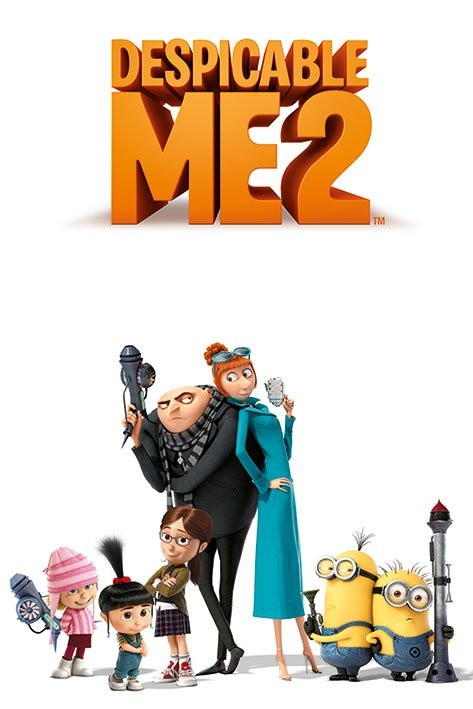 DESPICABLE ME 2 - characters Poster