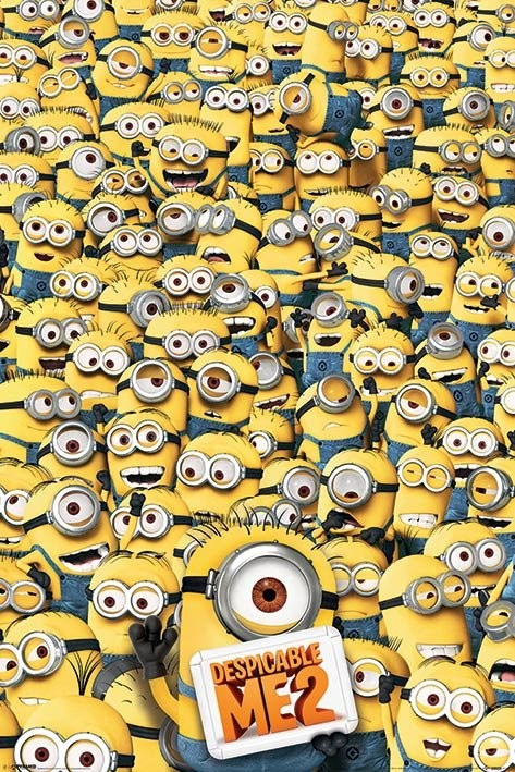 DESPICABLE ME 2 - many minions Poster
