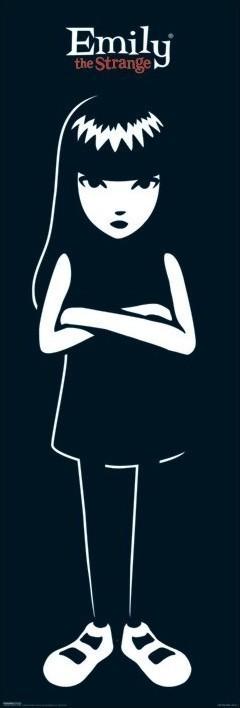 Emily the strange - portrait Poster