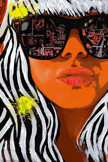 Frank E Hollywood Gaga Poster