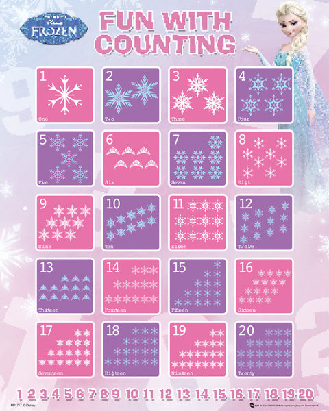Poster Frozen - Counting