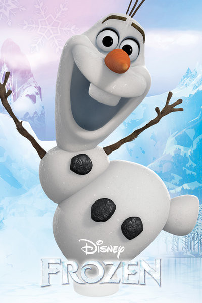 Frozen - Olaf Poster