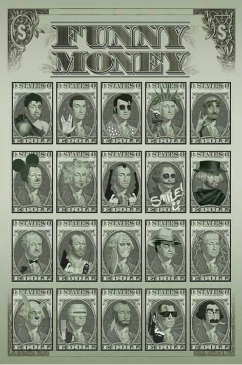 Funny money Poster