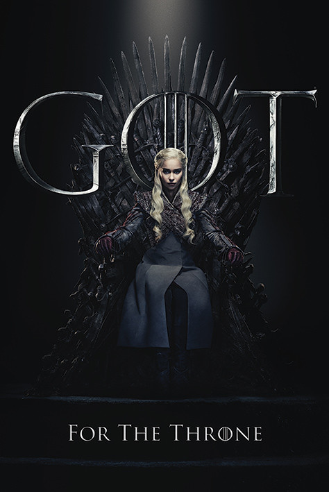 Game Of Thrones - Daenerys For The Throne Poster