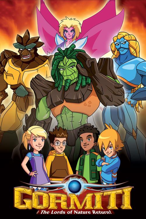 GORMITI - lords of nature Poster