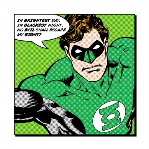 Green Lantern - Brightest Day Reproducere