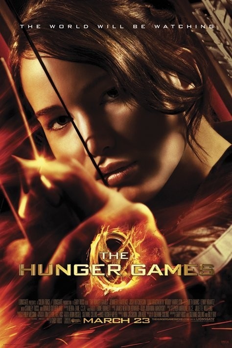 HUNGER GAMES - aim Poster