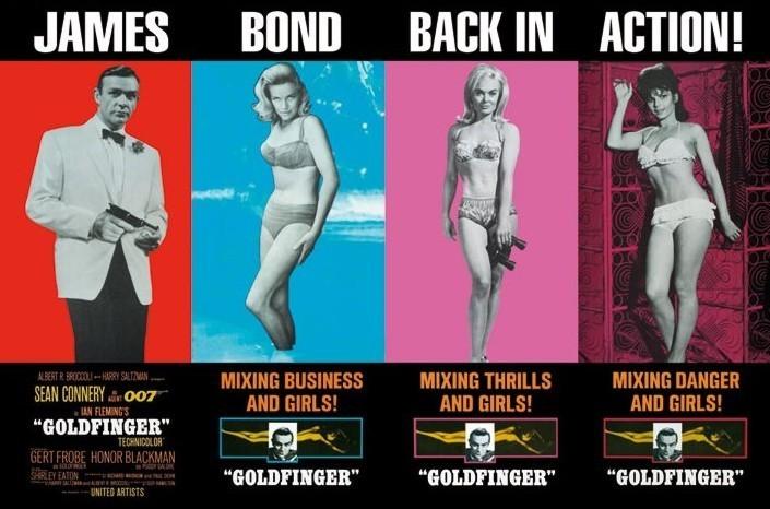 JAMES BOND 007 - back in action Poster