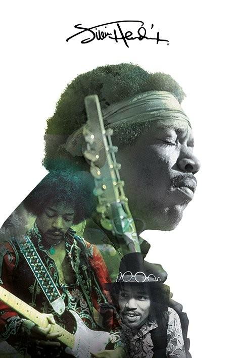 Jimi Hendrix - Double Exposure Poster