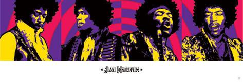 Jimi Hendrix - purple haze Poster