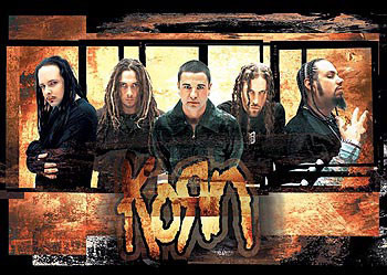 Korn – gold Poster