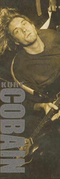 Kurt Cobain - Brown Poster