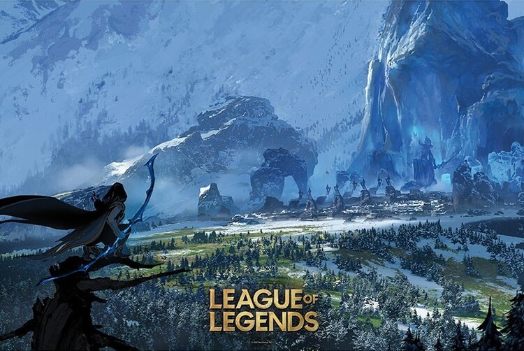 League of Legends - Freljord Poster