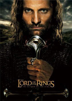 Lord of the RingsŮ - Aragorn teaser Poster