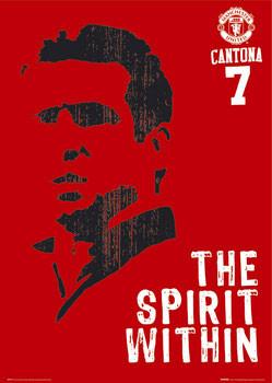 Manchester United - Cantona spirit Poster