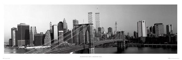 Manhattan morning Poster