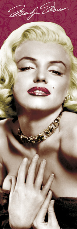 MARILYN MONROE - colour Poster