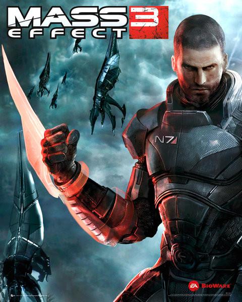 Mass effect 3 - reaper  Poster