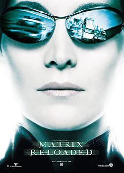 MATRIX - visage Trinity Poster