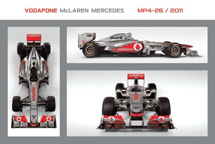 McLaren F1 MP4-26 Poster