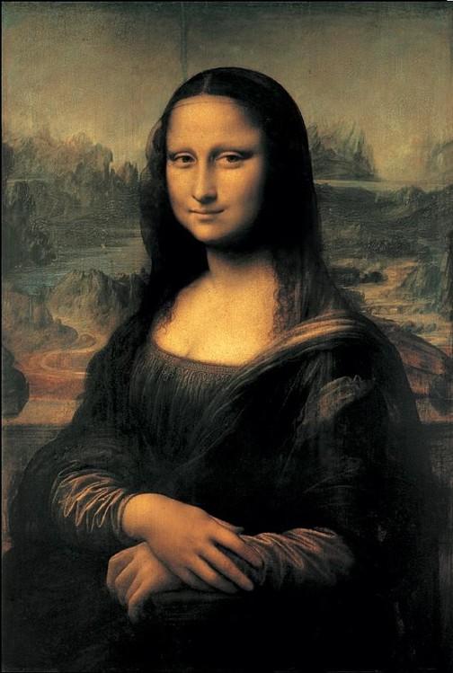 Mona Lisa (La Gioconda) Reproducere