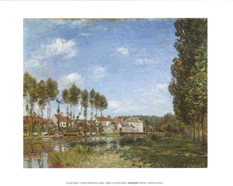 Moret, Banks of the Loing Reproducere