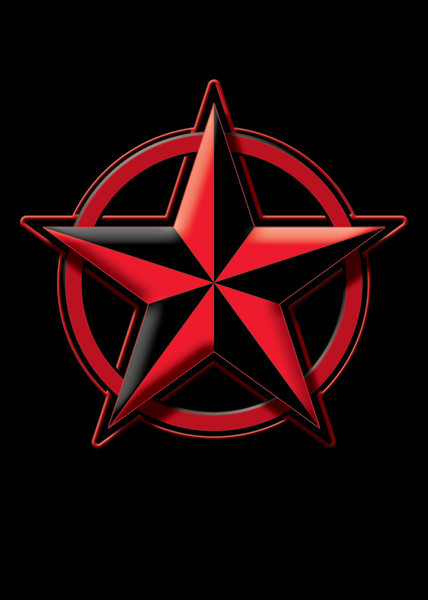 Nautical star Poster