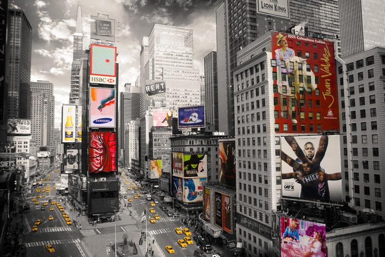 New York - Times square 2 Poster