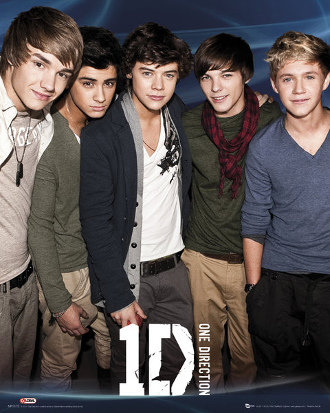 One Direction - Blue Poster