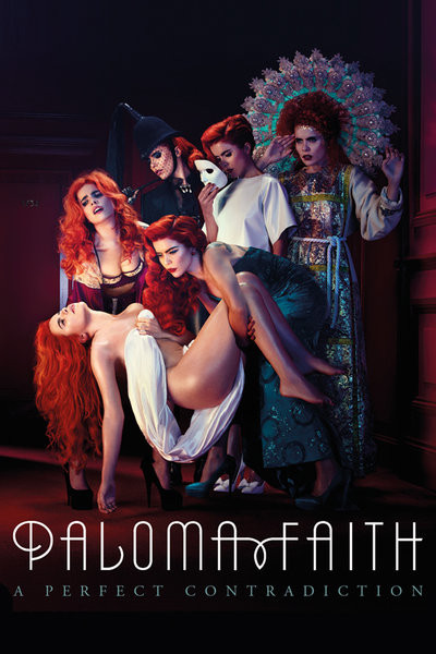 Paloma Faith - A Perfect Contradiction Red Poster