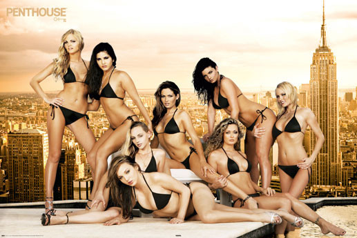 Penthouse - roof Girls Poster