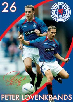 Rangers - lovenkrands Poster