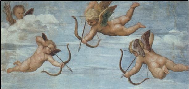 Raphael Sanzio - The Triumph of Galatea (part) Reproducere