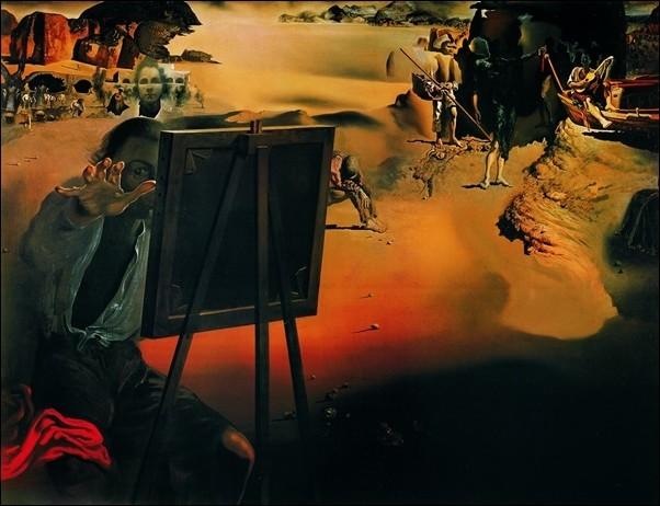 Salvador Dali - Impressions D Afrique Reproducere