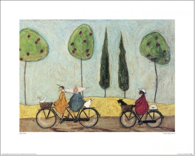 Sam Toft - A Nice Day For It Reproducere