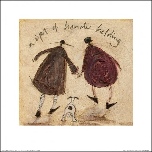 Sam Toft - A Spot of Handie Holding Reproducere