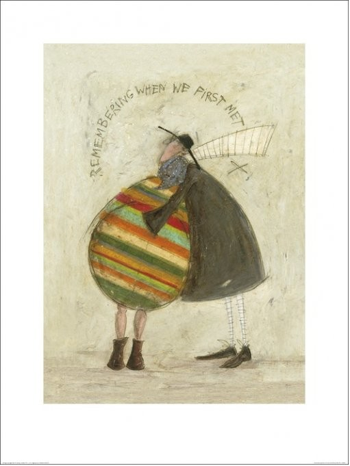 Sam Toft - Remembering When We First Met Reproducere