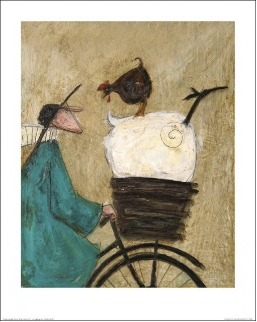 Sam Toft - Taking the Girls Home Reproducere