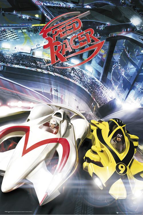Speed racer - battle Poster