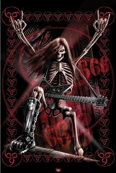 Spiral - metalhead Poster