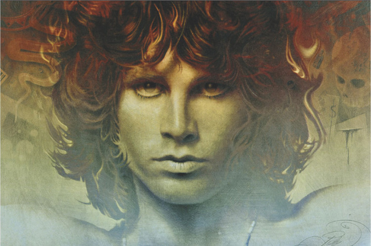 Spirit of Jim Morrison Poster