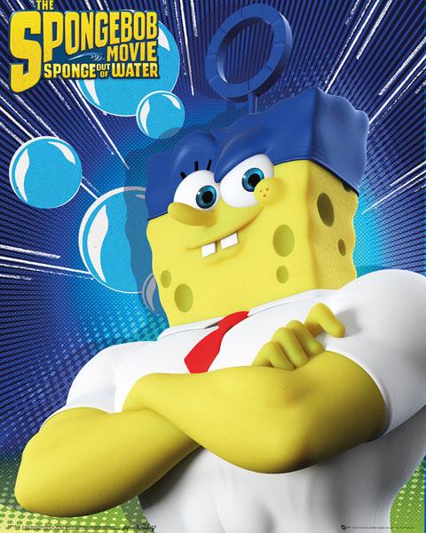 Spongebob The Movie - Standing Poster