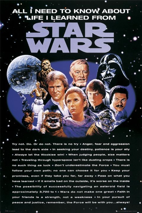 STAR WARS - all i need Poster