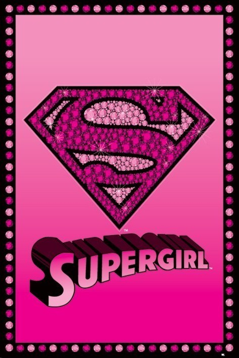 SUPERGIRL - bling Poster