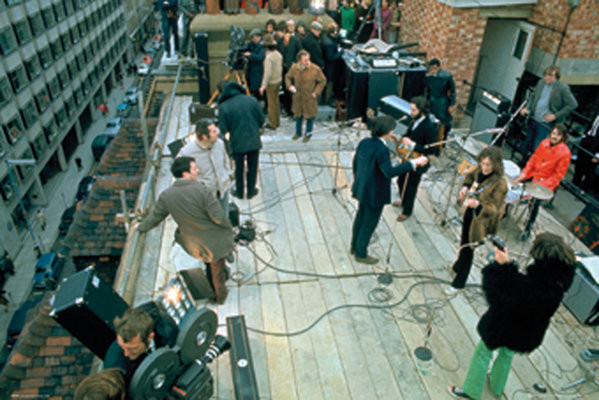 The Beatles - Rooftop Poster