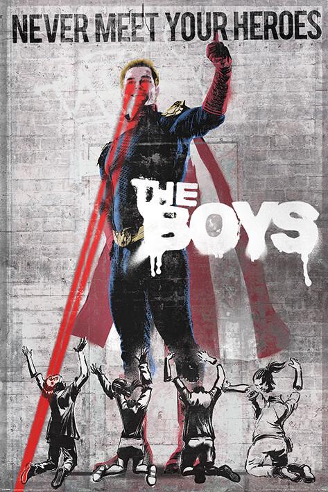 The Boys - Homelander Stencil Poster